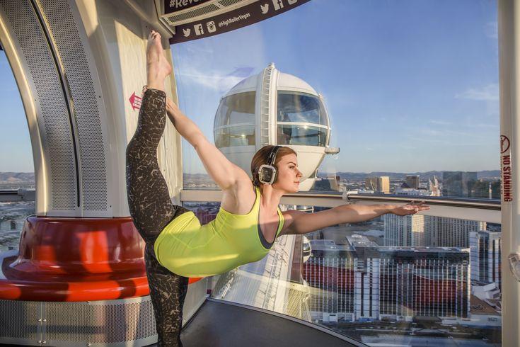 USA: Luftig yoga i Las Vegas - Reiseliv