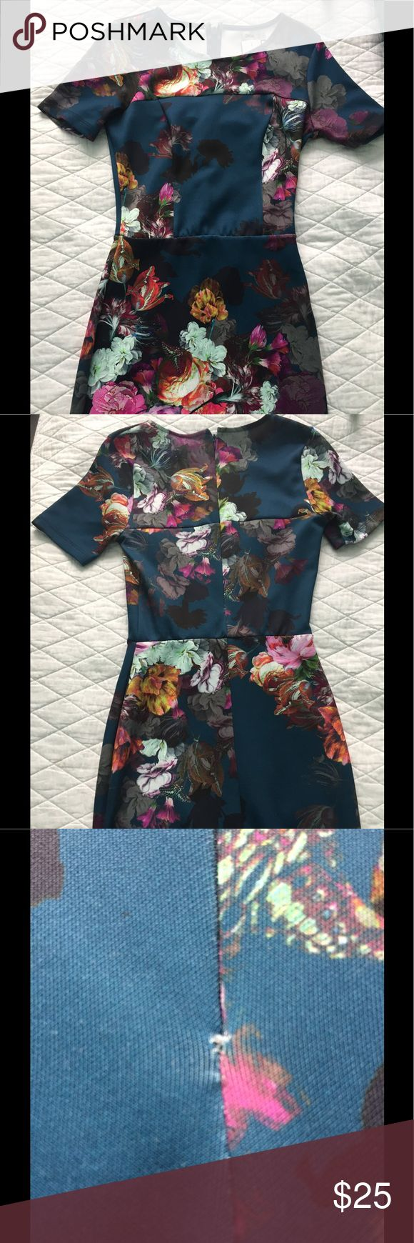 "🆕 ASOS FLORAL DRESS Brand new! Never worn! Cute midi navy blue floral dress! Size 6. Length 39 1/2"". Zipper does not come down all the way down (looks like it was made that way) sign of stress as shown in third pic. Bought it like that. Make an offer! 😊 ASOS Dresses Midi"