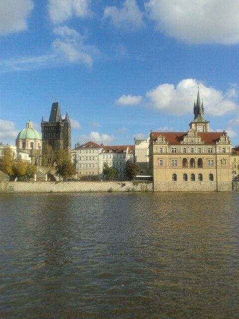 Try the river cruise in prague