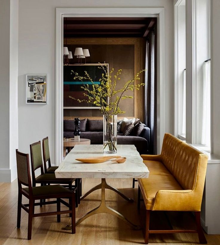 Settee Banquette | Dining Room