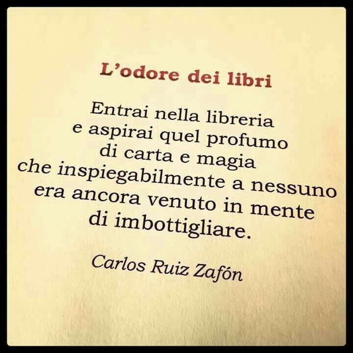 L'odore magico dei libri...