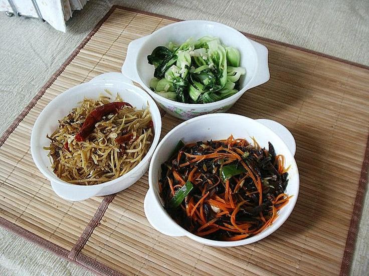 Various Stir-Fry:  Asian meatless meal idea.