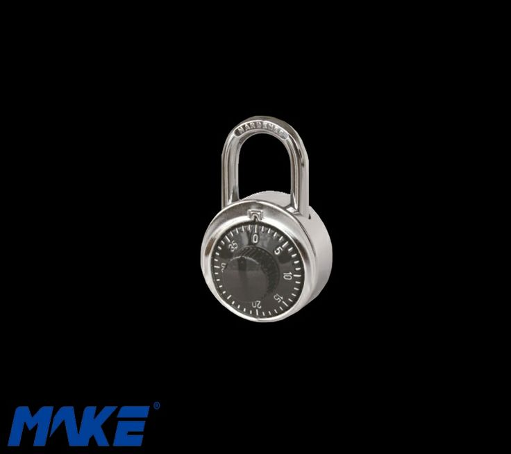 Combination Pad Lock T-7 Materials Lock body: Steel Wheel: Zinc alloy Shackle: Steel Lock cylinder: Brass Features Override key for door emergency opening http://www.makelocker.com/cp1.php