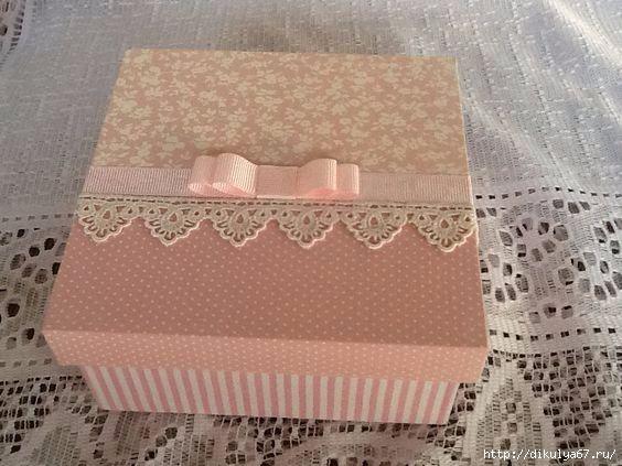 как украсить коробку из под обуви фото ней может