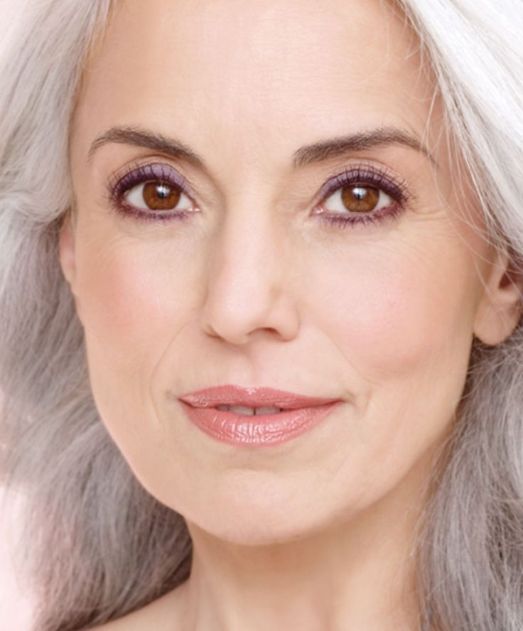 22 best images about Makeup For Silver (Grey) Hair on ...