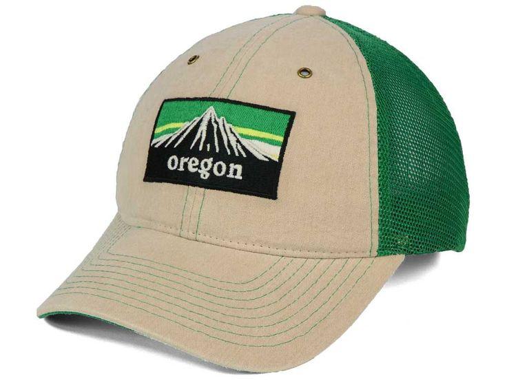 Oregon Ducks Zephyr NCAA Landmark Mesh Hat