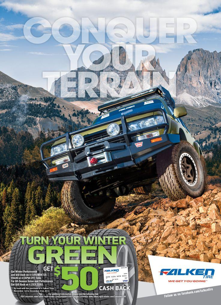 Falken Tire Off Road Magazine Ad Conquer Your Terrain