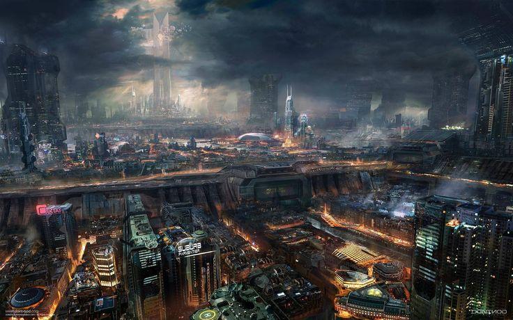 Cidades de um futuro sombrio: Wallpapers Cyberpunk - R2PG