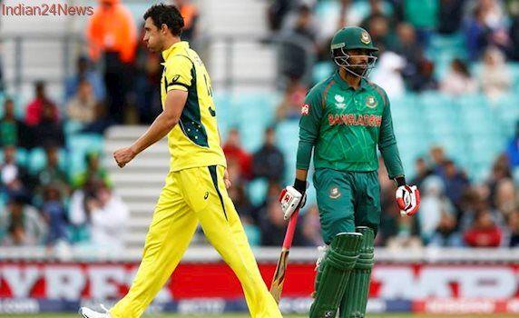 Australia vs Bangladesh: Fiery Mitchell Starc scripts Bangladesh collapse