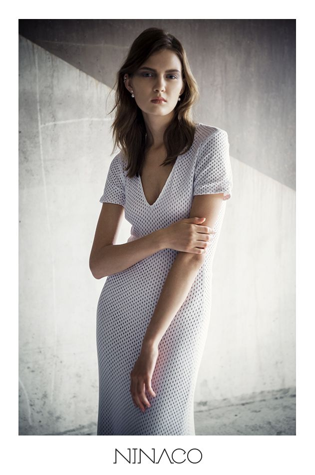 Sports & Luxure white couture dress