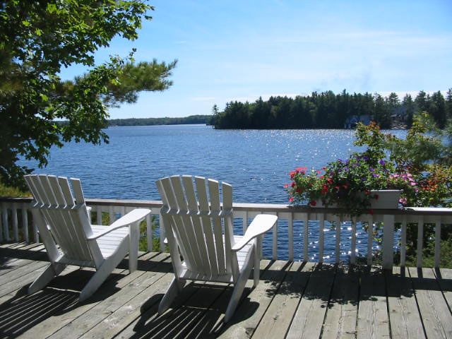 Muskoka - best place for a summer vacation!  The region is a couple of hours north of Toronto in Ontario, Canada.