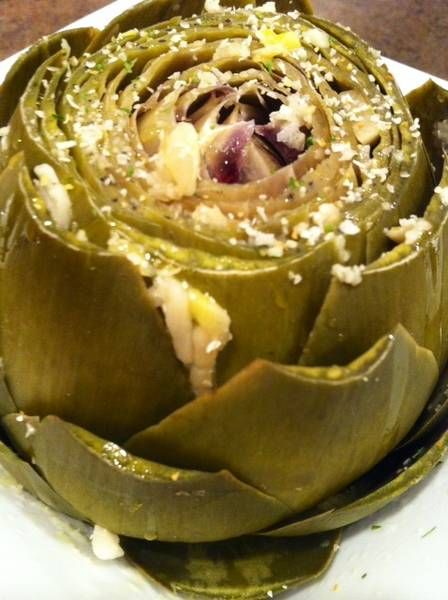 Great, easy to follow instructions for preparing artichokes, one of the world's healthiest foods.