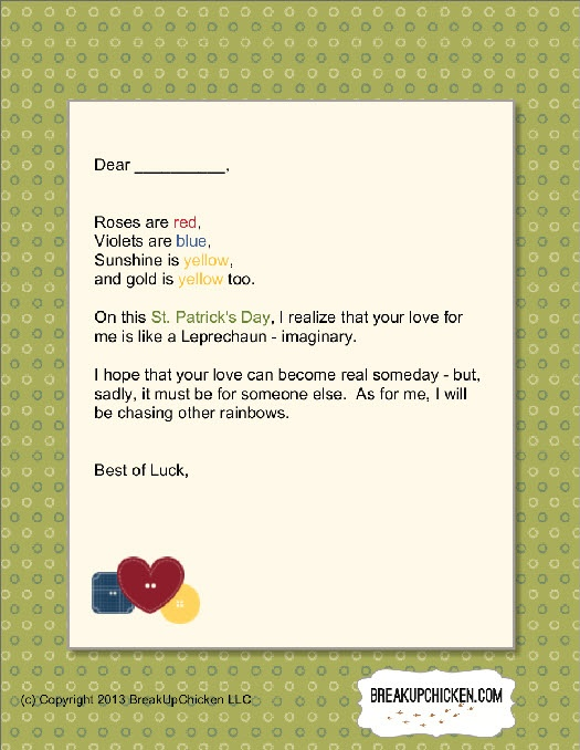76 best Breakup Letters images on Pinterest Breaking up, Breakup - breakup letters