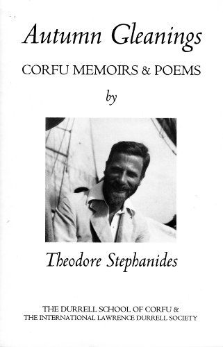 Autumn Gleanings: Corfu Memoirs and Poems by Theodore Stephanides http://www.amazon.co.uk/dp/095499373X/ref=cm_sw_r_pi_dp_3KcLwb0AJ30RQ
