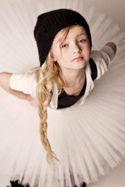 Evelina Voznesenskaya, a Russian child model.