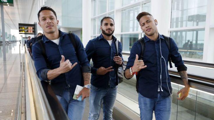 """Favorito, Barcelona busca vitória para ser campeão espanhol; Real """"seca"""" #globoesporte"""
