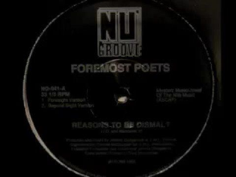 Foremost Poets - Reasons To Be Dismal? (Foresight Version) - YouTube