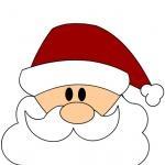 Sagome di Natale - Babbo Natale