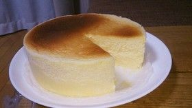 糖質制限中♥チーズスフレ