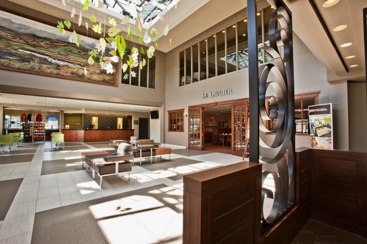 Nouveau lobby moderne
