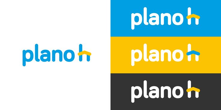 Main logo colors for Planoh identity