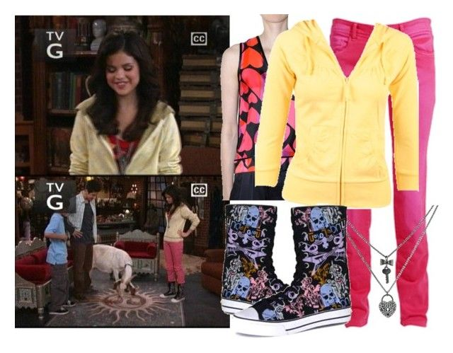 """Selena Gomez as Alex Russo"" by jc10 ❤ liked on Polyvore featuring мода, Disney, Chloé, Marc Jacobs, Wet Seal, Betsey Johnson, wizards of waverly place, selena gomez, curb your dragon и alex russo"