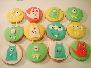 Μπισκότα ''Little Monsters'' !