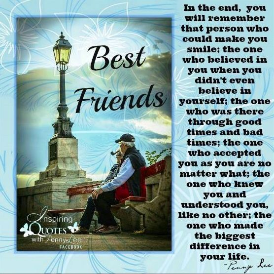 Best Friends Quote Via Inspiring Quotes With Penny Lee On Facebook