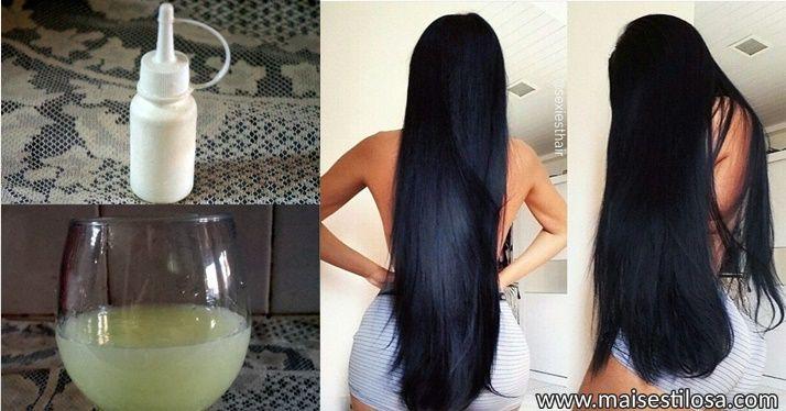 como fazer o cabelo parar de cair e crescer rapido