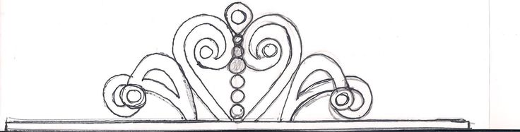 Sketches patterns templates i just sketched out a for Sofia the first crown template