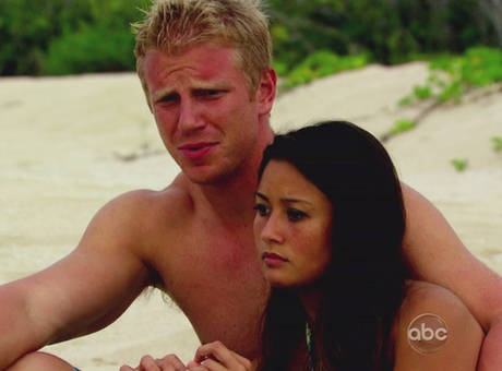 Sean Lowe and Catherine Giudici on the Beach in St. Croix in The Bachelor Season 17  #TheBachelor17WhosGonnaWin
