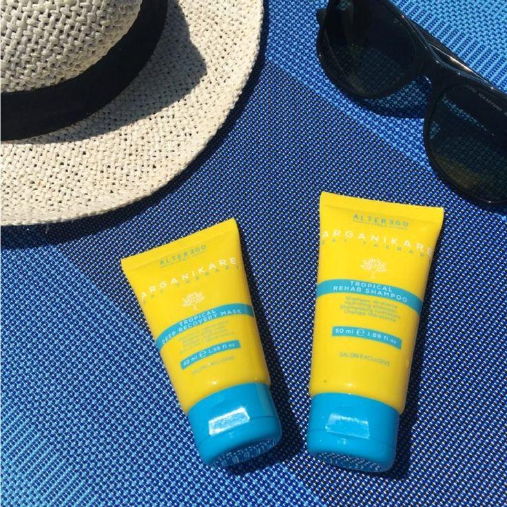 Arganickare Tropical , protezione solare per capelli - MyFloreschic