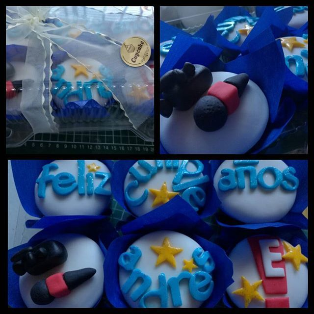 De la Universidad a Hollywood.... Felicidades Andrés #maryscupcake #rancagua #chile #follow4follow #hollywood