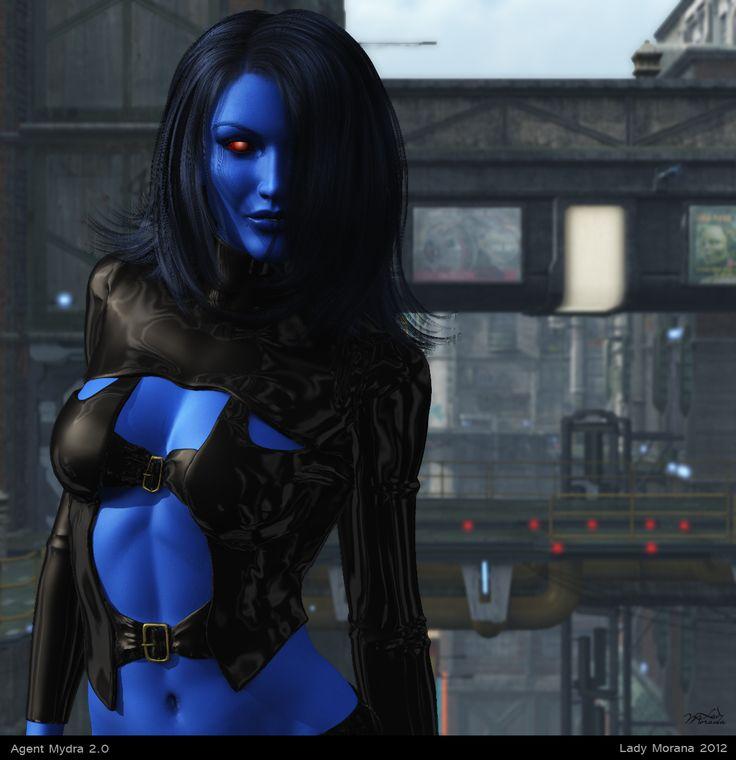 Mydra Ryn as a Chiss Imperial Agent