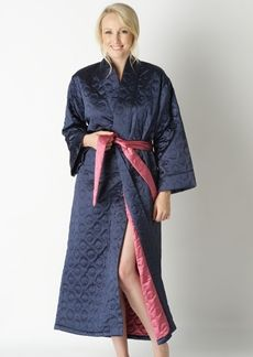 24 Best Images About Quilted Dressing Gowns On Pinterest