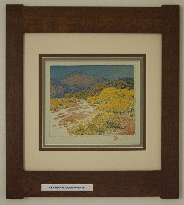 Mission Style Gustave Baumann Arts Crafts Framed Print