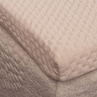 @Overstock - A haven of comfort with simple modern design, this topper is constructed with two inches of all natural, ecologically sustainable latex. A soft stretchable and breathable all-cotton cover provides a superior fit and finish to the all-latex core.http://www.overstock.com/Bedding-Bath/Sleep-Invigorate-All-Natural-Latex-2-inch-Mattress-Topper/7482583/product.html?CID=214117 CAD              391.62