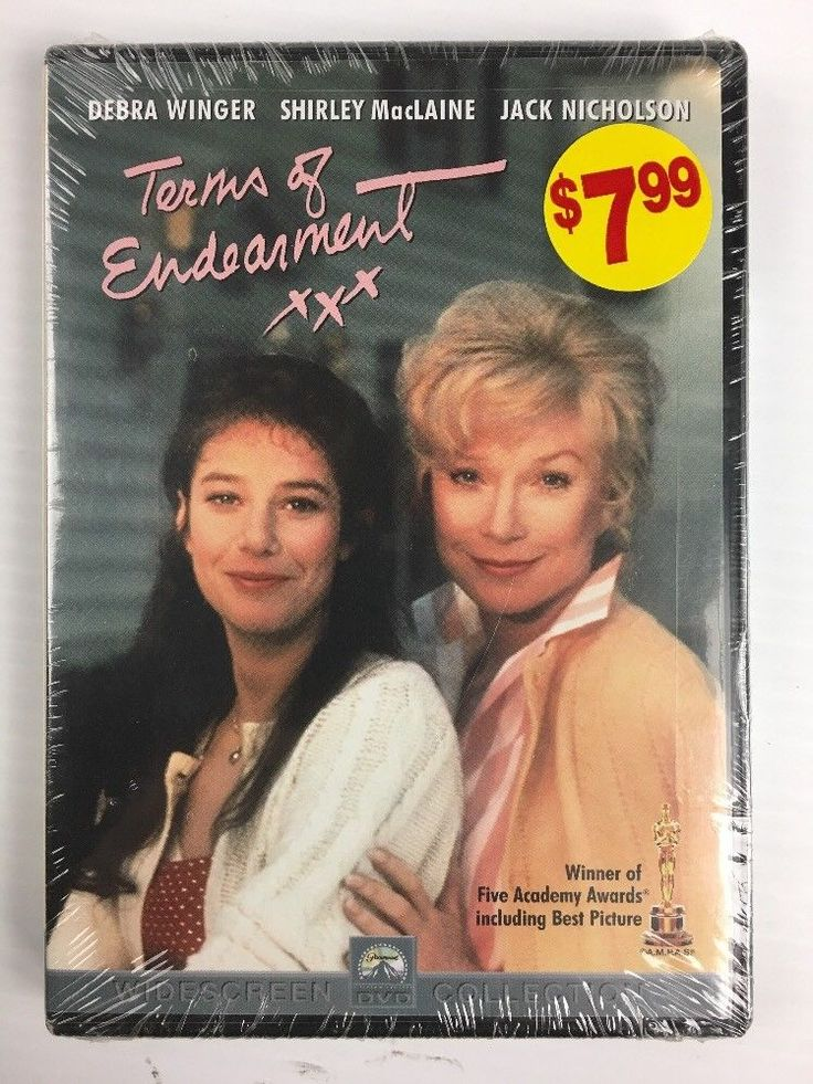 Terms of Endearment (DVD, 2001) Shirley Maclaine, Debra Winger - BRAND NEW