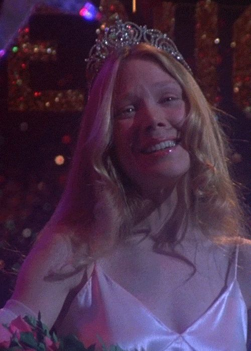 Carrie, 1976 Sissy Spacek and William Katt in, 1976. #carriemovie #carrie