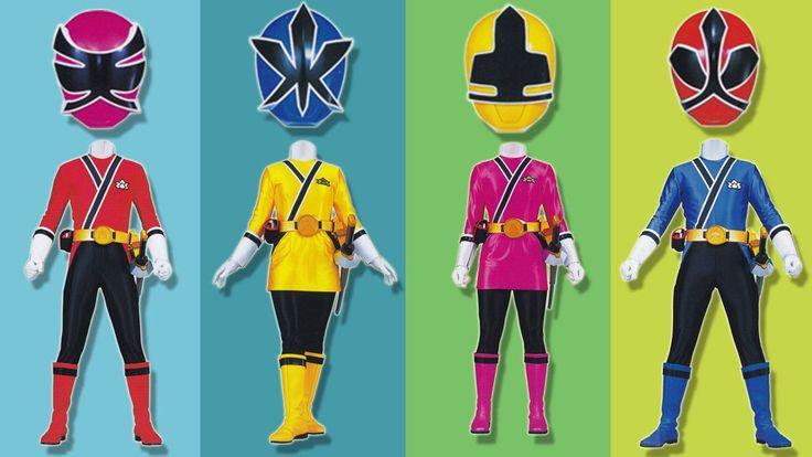 Wrong Heads Power Rangers Super Samurai Superhero Parody Finger Family N...