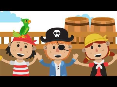 If You Want To Be A Pirate Song | Kids Music | Nursery Rhyme | The Kiboomers - YouTube