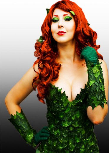 Poison Ivy cosplay costume