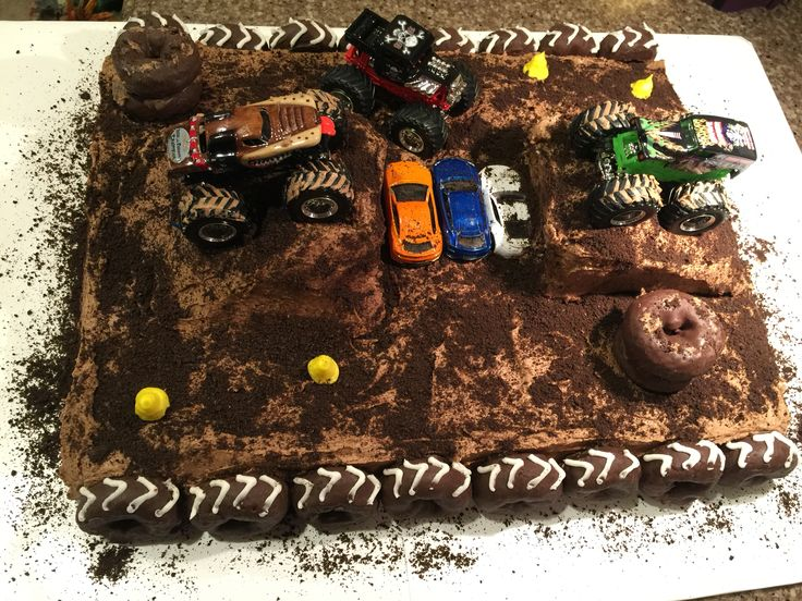Monster truck cake! Was quite fun to make!!