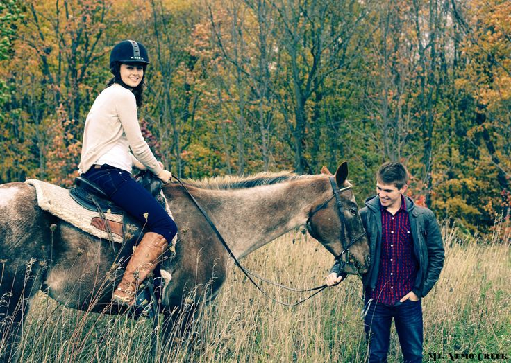 Warm fall day for a horseback ride @ Mt. Nemo Creek