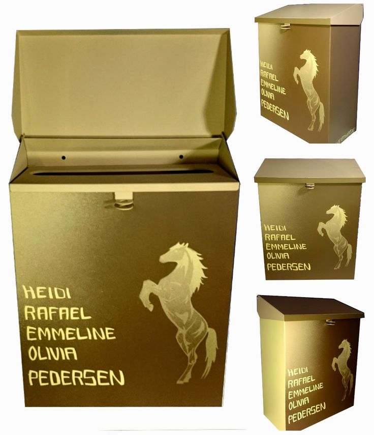 HJERTEHJORT: Hest er Best på Postkassa :)  How Cool is our new Horse Mailbox!