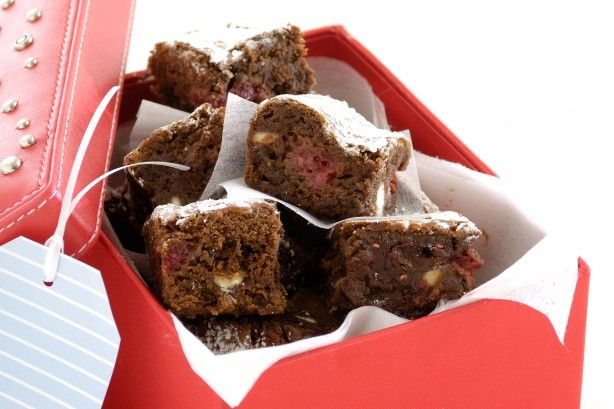 Christmas brownies main image