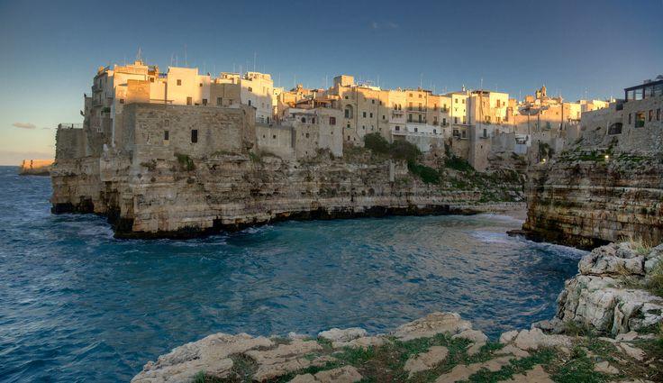 Greetings from Polignano a Mare, Puglia