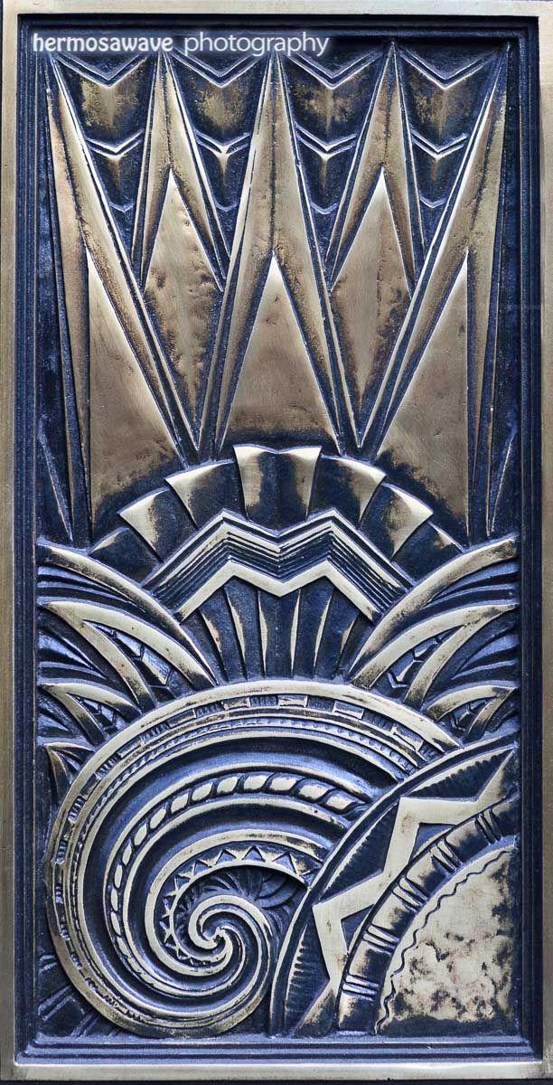 art deco elevator doors - Google Search