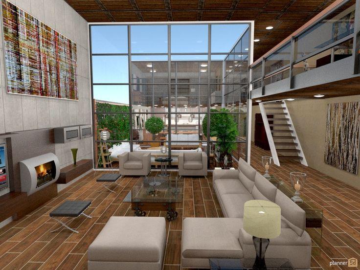 20 best Planner 5D designs: living rooms images on ...