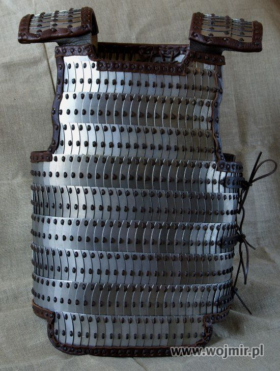 Beautiful lamellar armor